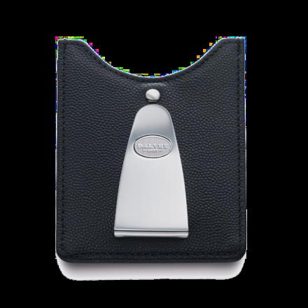 Kreditkartenhalter mit Geldscheinklammer Schwarz
