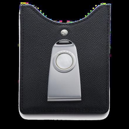 Kreditkartenhalter mit verzierter Geldscheinklammer