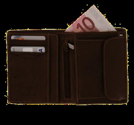 Herren Geldbörse mit Münzgeldfach
