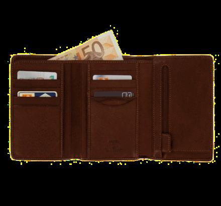 Herren Portemonnaie mit Kleingeldfach