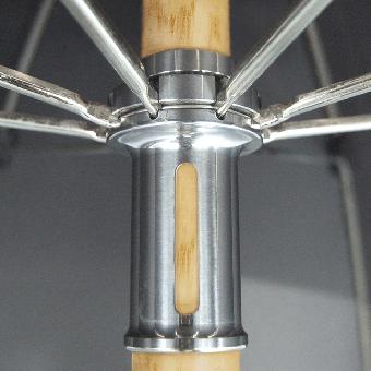 Herrenschirm Holzstock Esche mit Esche-Griff lackiert