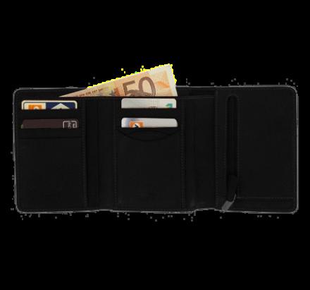 Herren Geldbörse mit Kleingeldfach